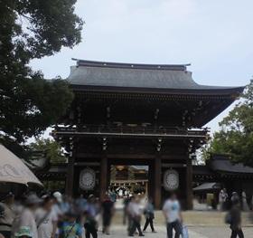 寒川神社 夏超の大祓式